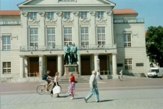 prekrasni njemacki weimar sa svojim svjetski poznatim piscima