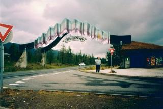 ulaz u sjever norveske